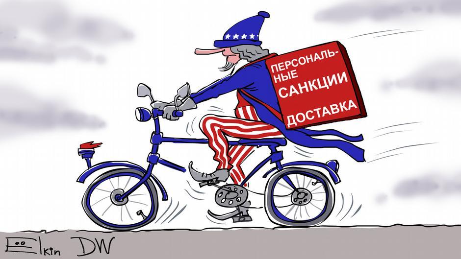 Санкции за Навального и Крым, Сергей Елкин