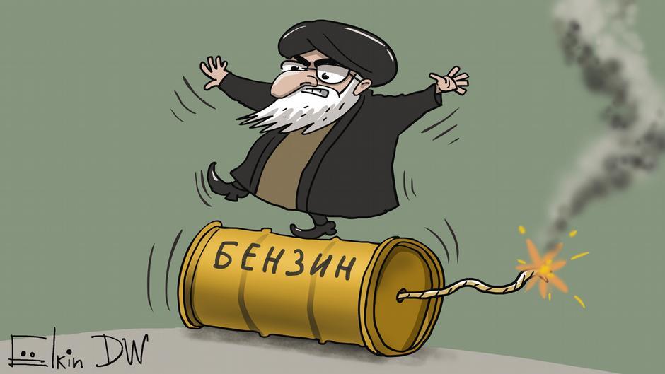 Шаткая позиция властей в Иране, Сергей Елкин
