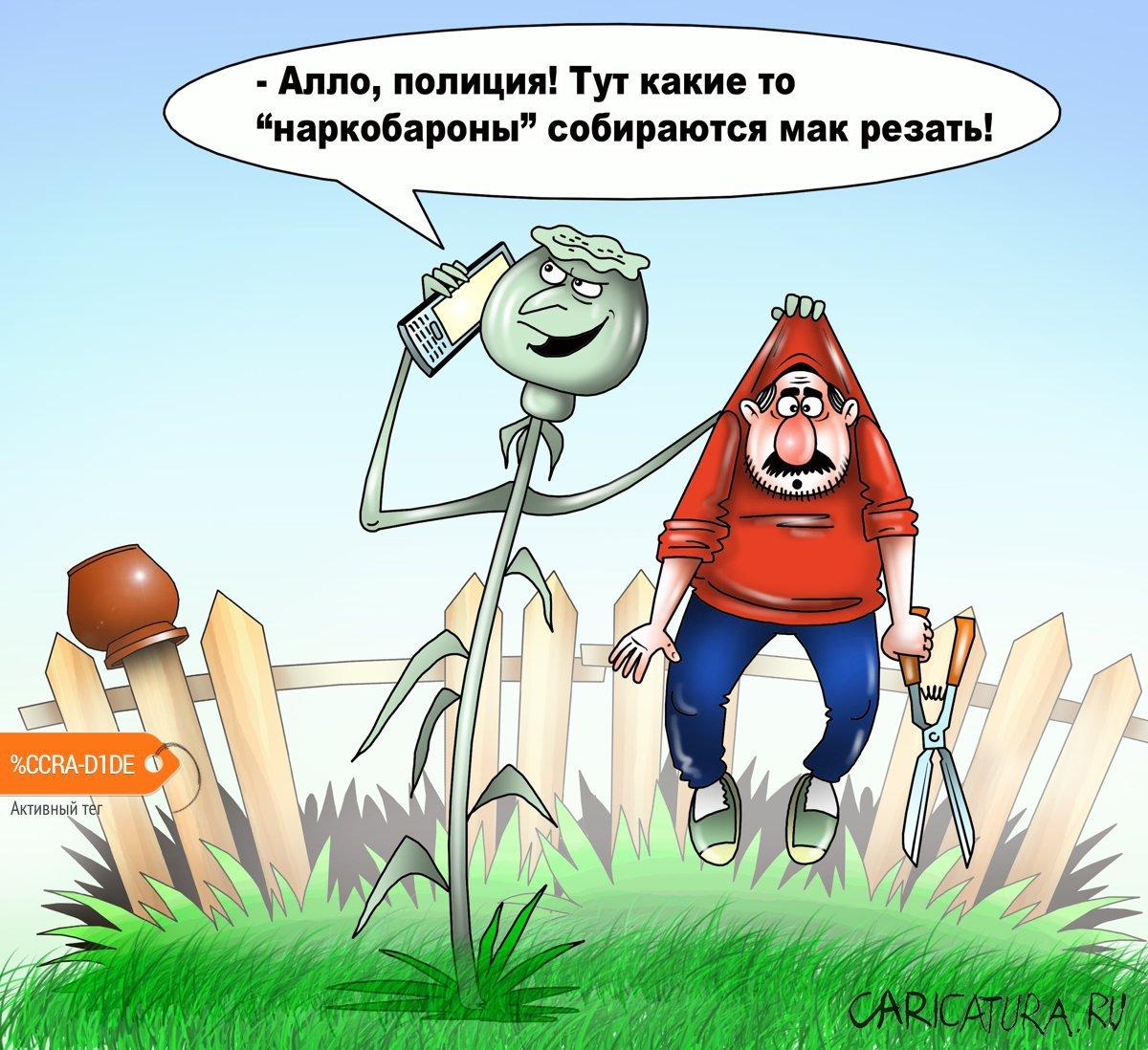Деревенских жителей судят за мак, Сергей Корсун