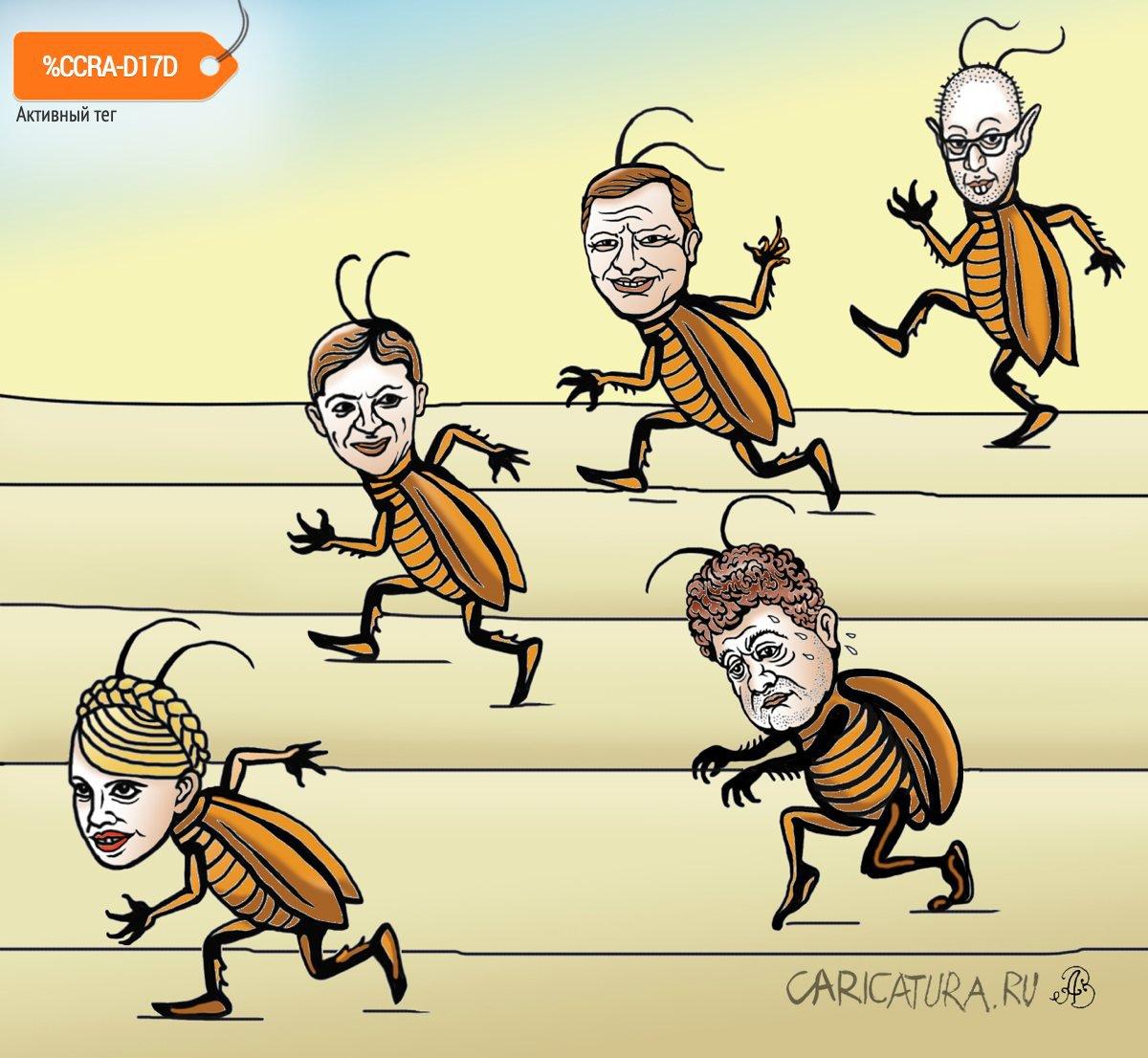 Тараканьи бега, Андрей Ребров