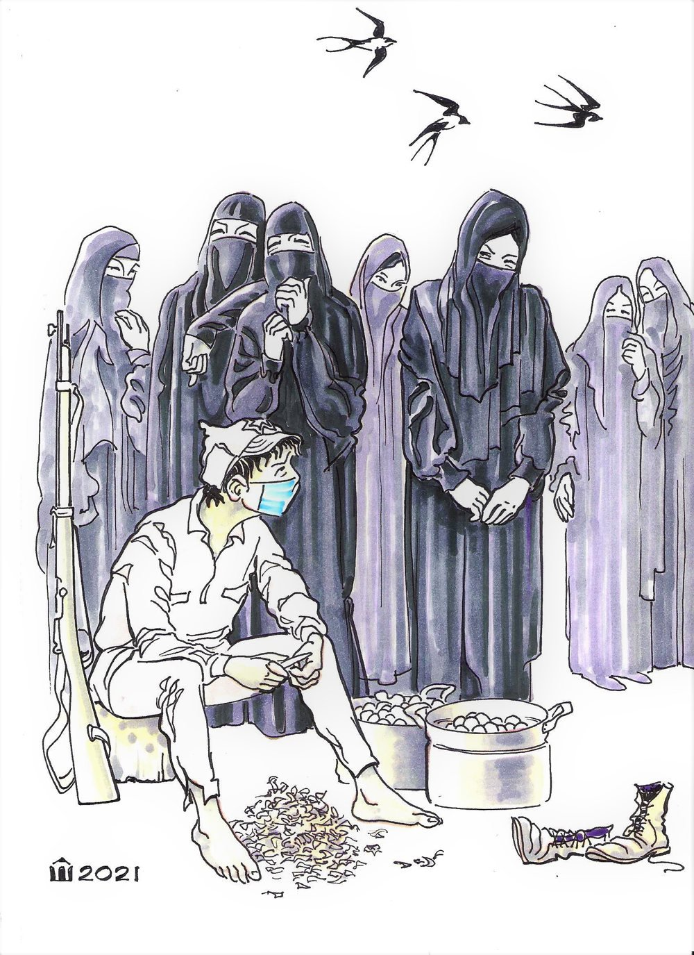 Освобожденная женщина Востока, Алексей Шишкарёв