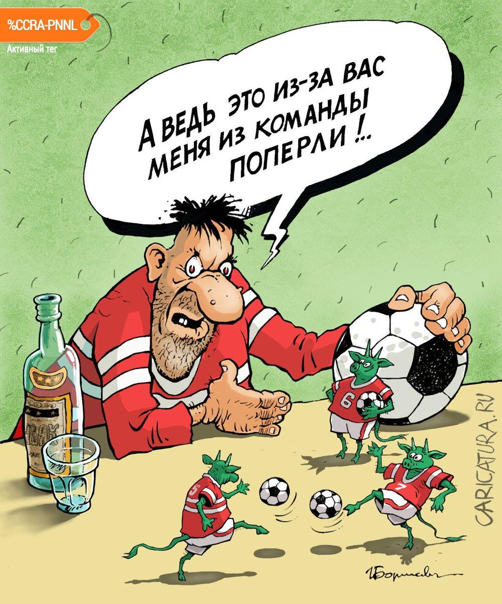 Черти-футболисты, Игорь Елистратов