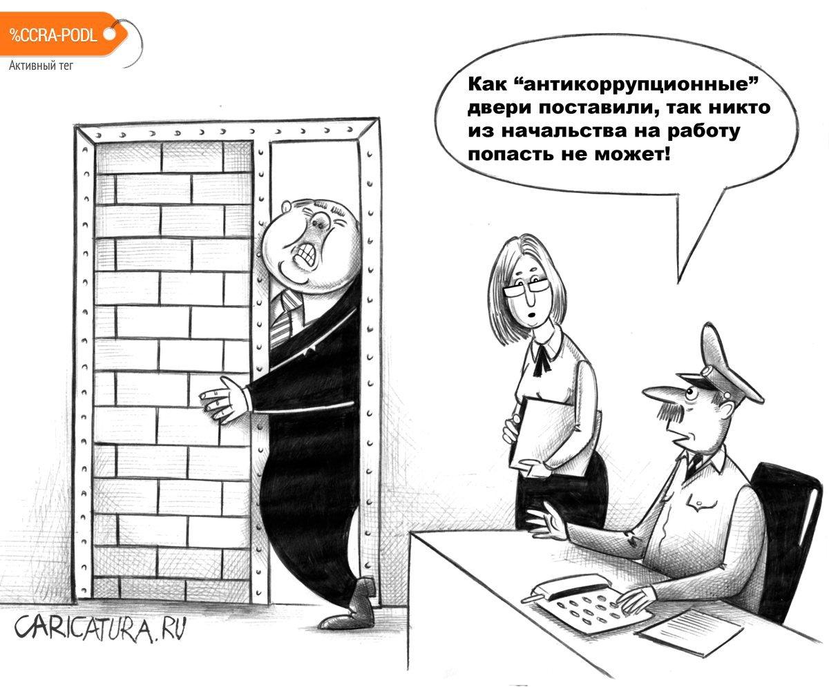 Антикоррупционные двери, Сергей Корсун