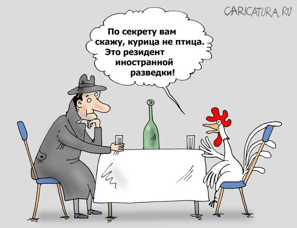 Шпиономания, Валерий Тарасенко