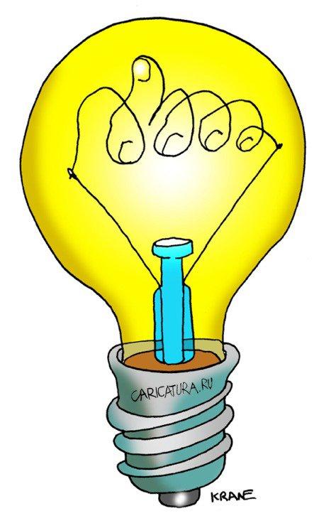 лампа рисунок:
