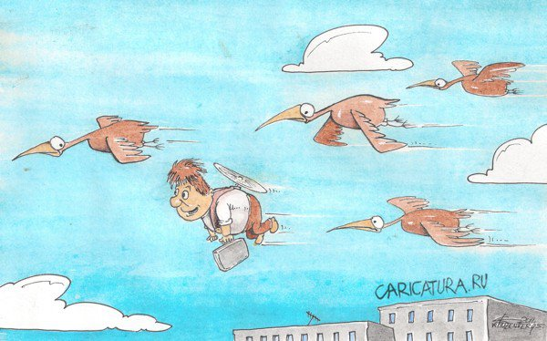 Картинки по запросу гуси-лебеди карикатура