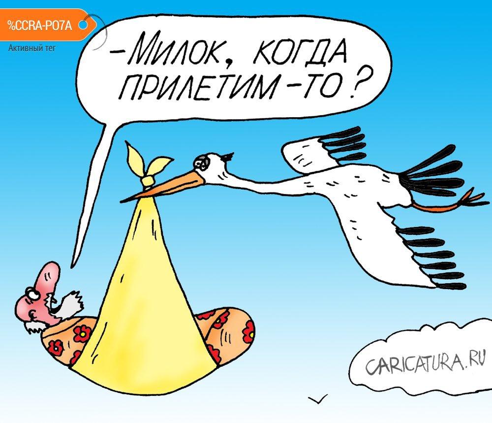 Картинки по запросу Карикатура Аист в России