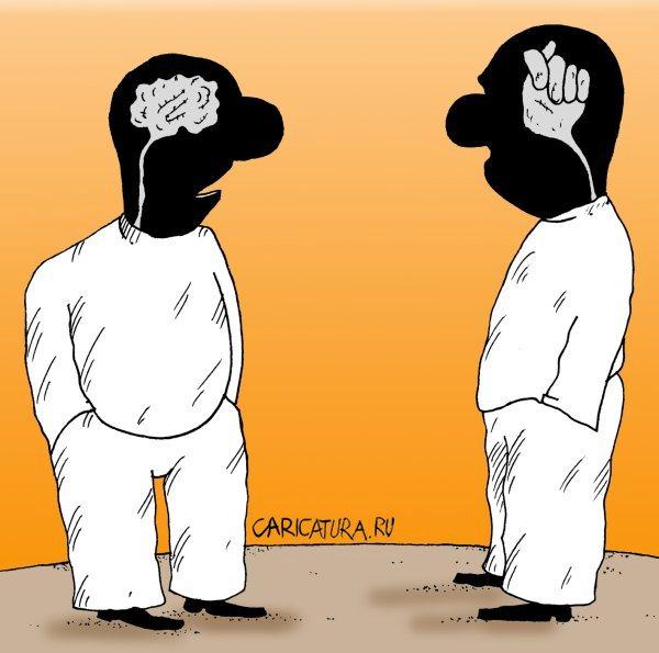 Картинки по запросу карикатура мозг