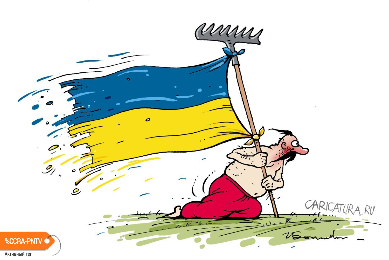 "Картинки по запросу ""Карикатура Русский на грабли"""