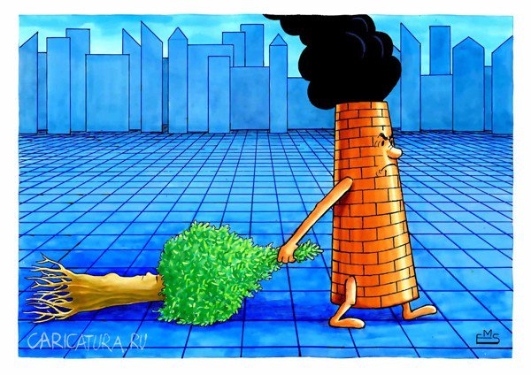Картинки по запросу Карикатура экология мусор
