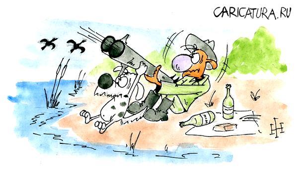 охота карикатура
