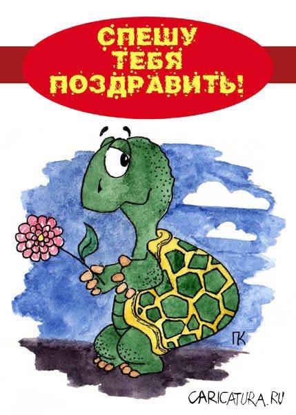 Аватарку, картинка с днем рождения черепаха