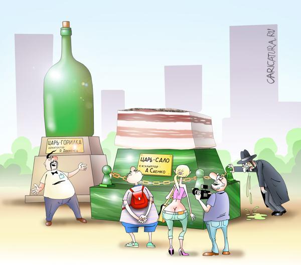 karikatura-ekskursiya-po-kievu_(sergey-k