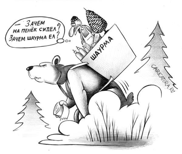 "Картинки по запросу ""Карикатура Шаурма"""