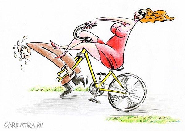 Катание на велосипеде прикольные картинки