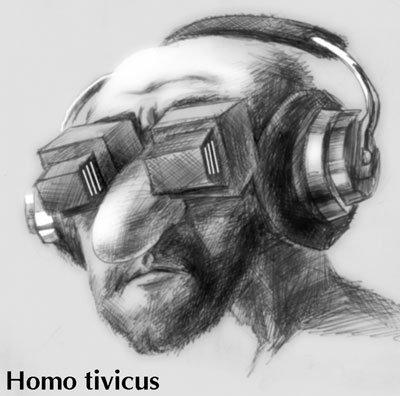 """Сергей Самсонов """"Homo tivicus"""""""