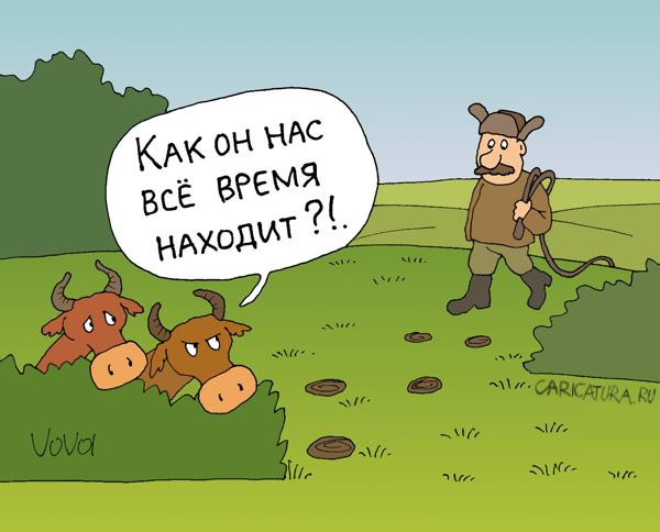 Анекдот Корова