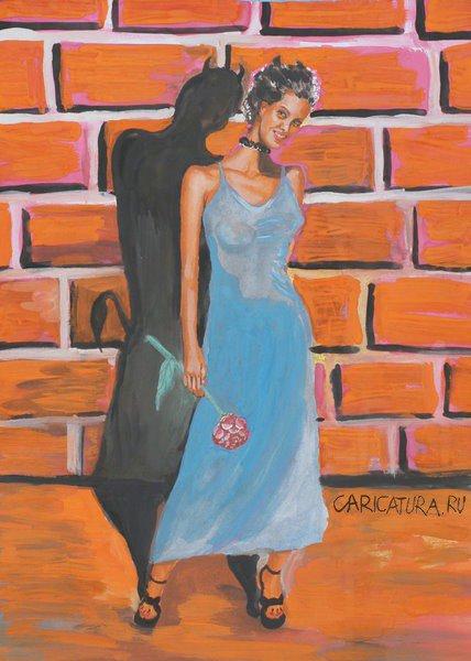 Картинки по запросу Карикатура Крутая женщина