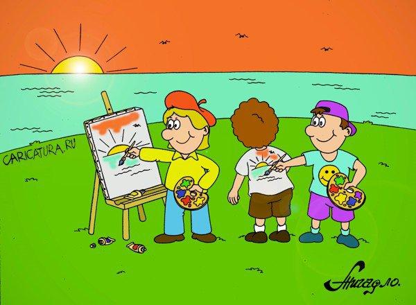 Днем, картинки карикатуры смешные для детей